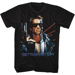Terminator Mens Laser Back T-Shirt