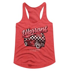Warrant Womens Warrant Garage Racerback Tank Top