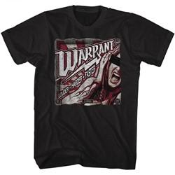 Warrant Mens Louder Harder Faster T-Shirt