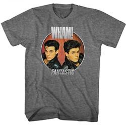 Wham Mens Fantastic Circle T-Shirt