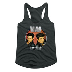 Wham Womens Fantastic Circle Racerback Tank Top