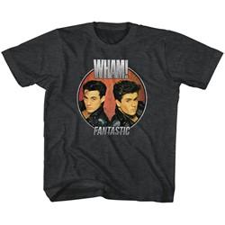 Wham Unisex-Child Fantastic Circle T-Shirt