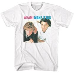 Wham Mens Make It Big T-Shirt