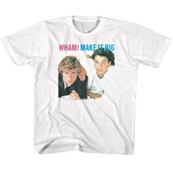 Wham Unisex-Child Go-Go T-Shirt