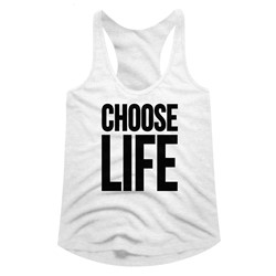 Wham Womens Choose Life Racerback Tank Top