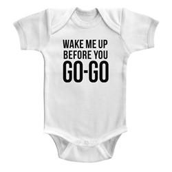 Wham Unisex-Baby Go-Go Onesie