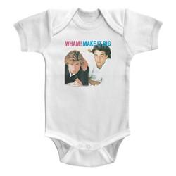 Wham Unisex-Baby Make It Big Onesie