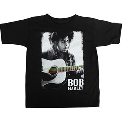 Bob Marley / Catch A Fire - Guitar Play unisex-child Toddler T-Shirt