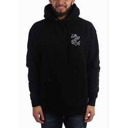 Dark Seas - Men's Sunburst-Hood Fle Pullover Hood Fleece