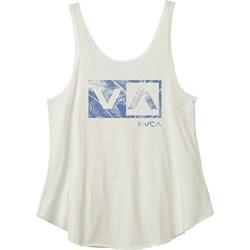 RVCA Womens New Palm Box Sleeveless T-Shirt