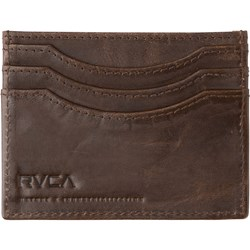 RVCA Mens Newland Leather Wallet