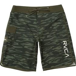 RVCA Mens Eastern Fixed Waist Boardshort