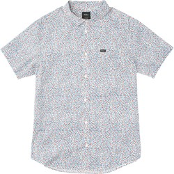 RVCA Mens Happy Thoughts Short Buttondown