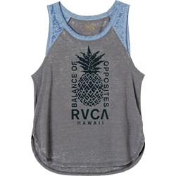 RVCA Womens Hawaii Pineapple Sleeveless T-Shirt