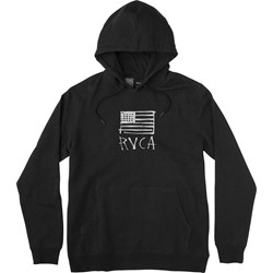 RVCA Mens Horton Flag Hooded Pullover