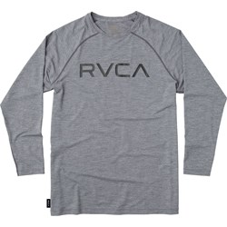 RVCA Mens Micro Mesh Long Rashguard