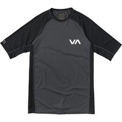 RVCA Boys Short Sleeve Rashguard