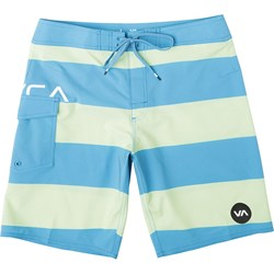 RVCA Boys Uncivil Stripe Fixed Waist Boardshort