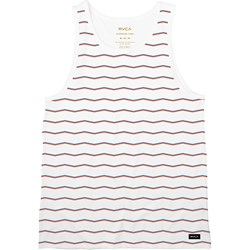 RVCA Mens Va Stripe Sleeveless T-Shirt