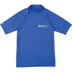 RVCA Boys Rvca Solid Short Sleeve Rashguard