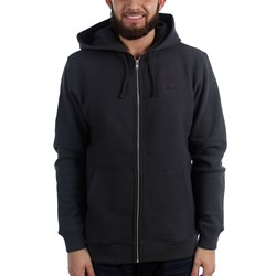 Stussy Mens Stock Logo Zip Hooded Sweater