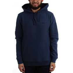 Stussy Mens Stock Logo Hooded Sweater