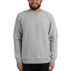 Stussy Mens Stock Logo Crew Sweater