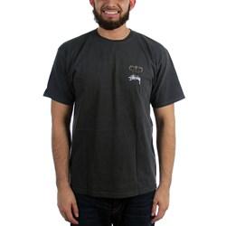 Stussy Mens Babylon On Fire Pigment Dyed T-Shirt