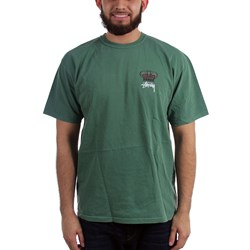 Stussy Mens Babylon On Fire Pigment Dyed T-Shirt