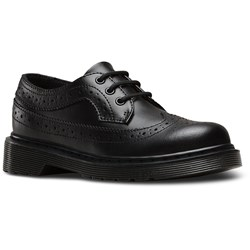 Dr. Martens - Unisex-Child 3989 J Jr Wingtip Shoe