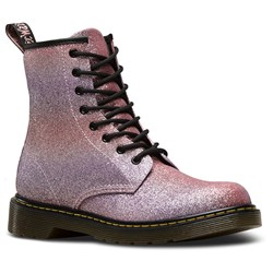 Dr. Martens - Unisex-Child Delaney Gltr Youth Lace Boot