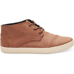 Toms Men's Paseo Mid Synthetic Leather Sneaker