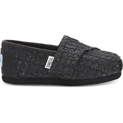 Toms Tiny Alpargata Crochet And Lace Espadrille