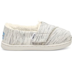 Toms Tiny Alpargata Cotton/Poly Espadrille