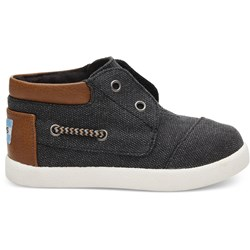Toms Tiny Bimini High Solid Canvas Sneaker
