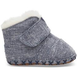 Toms Tiny Cuna Denim Chambray Layette