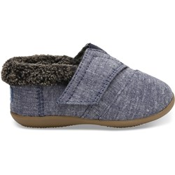 Toms Tiny House Slipper Denim Chambray Slipper