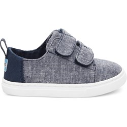 Toms Tiny Lenny Denim Chambray Sneaker