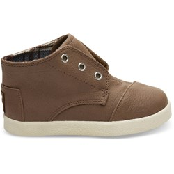 Toms Tiny Paseo Mid Synthetic Leather Sneaker