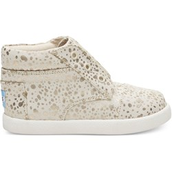 Toms Tiny Paseo High Canvas Printed Sneaker