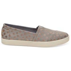 Toms Women's Avalon Canvas Printed Slip-On