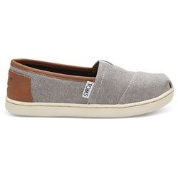 Toms Youth Alpargata Denim Chambray Espadrille