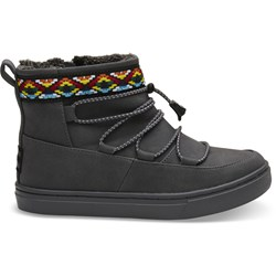 Toms Youth Alpine Synthetic Suede Boot