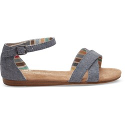 Toms Youth Correa Denim Chambray Sandal