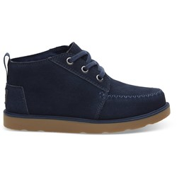 Toms Youth Chukka Synthetic Suede Boot
