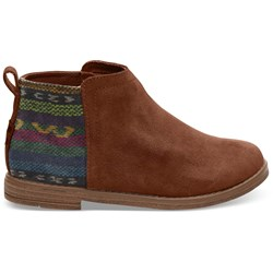Toms Youth Deia Suede Bootie