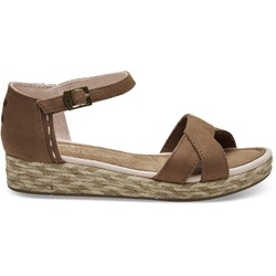 Toms Youth Harper Twill Wedge