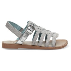 Toms Youth Huarache Linen Sandal