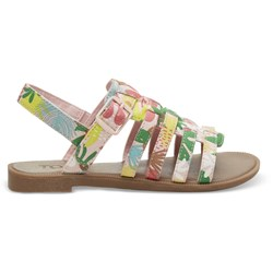 Toms Youth Huarache Canvas Printed Sandal