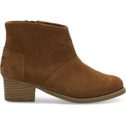 Toms Youth Leila Suede Bootie